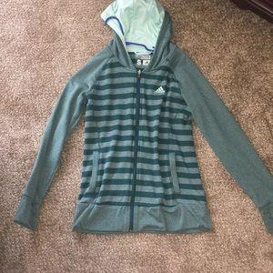 Zip-up adidas jacket